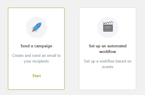 Send a campaign