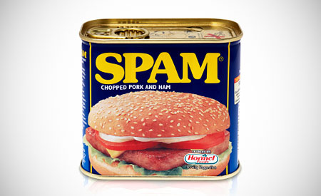 SPAM is just food !