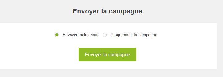Checklist campagne